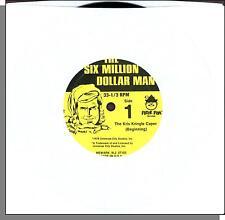"The Six Million Dollar Man - The Kris Kringle Caper (1978) - 7"" Kids Single!"