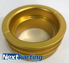 Axle Kart Water Pump Pulley Gold - Karting X30 TonyKart / Nextkarting