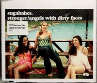 Sugababes - Stronger/Angels With Dirty Faces (Enhanced CD 2002) Video/4 trk CD