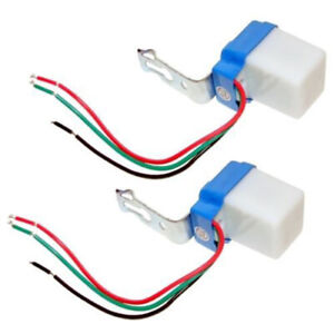 12V 10A Mini Twilight Dämmerung Sensor Schalter Nachtlicht Dämmerungssensor