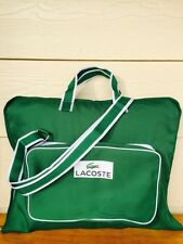 Nwt Lacoste Parfums Mens Travel Garment Bag Duffle Weekender Evening Bag!