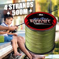 Warknife 500M Braid Extreme Pe Line Braided Fishing Line Japan Sea Fishing Line