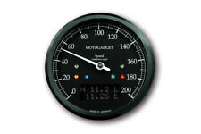 Motogadget CHRONOCLASSIC SPEEDO DARK 1 Tacho + Drehzahlmesser + Multifunktion