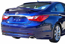 PAINTED TO MATCH SPOILER FOR A HYUNDAI SONATA FITS 2011-2015