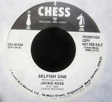 """Jackie Ross  SELFISH ONE - Laura Lee - DIRTY MAN  Promo Vinyl 7"""" Single  [1984]"""