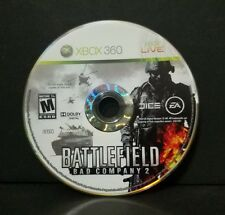 Battlefield: Bad Company 2 (Microsoft Xbox 360, 2010) Disc Only