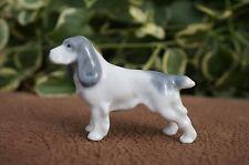 VTG Metzler Ortloff GERMANY Porcelain ENGLISH SPRINGER SPANIEL Dog Cocker M&O