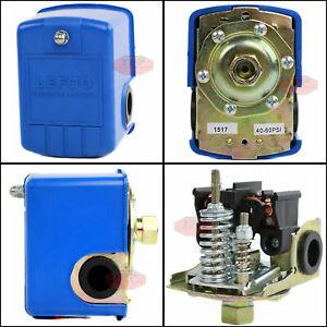 "New Well Water Pump Pressure Control Switch 40-60 Preset PSI 1/4"" Female NPT"