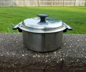 CARICO NUTRI-TECH 304 STAINLESS STEEL 18-10 5 QT POT