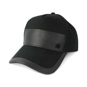 NEW Sean John Men's Faux Leather Patch Adjustable Baseball Cap  ABSJ2938MC