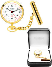 Jean Pierre Gold Plated Nurses Fob Watch in a Gift Box with Free Engraving l554p