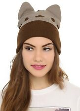 Pusheen Facebook Character Watchman Beanie Knit Hat Gift Rare New With Tags!