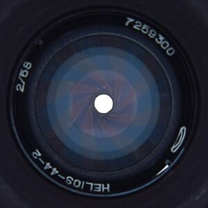 ✅ HELIOS 44-2 f2/58mm. 16 blades aperture. - SERVICED - MADE in USSR №7259300