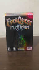 Ever Quest Platinum (PC, 2004) Rated T for Teen. missing disk 1