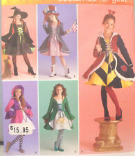 SEWING PATTERN Simplicity 2834 IRISH DANCE Costume Girls Size 7-14