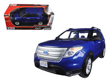 2015 FORD EXPLORER XLT BLUE 1:18 DIECAST MODEL BY MOTORMAX 73186BL