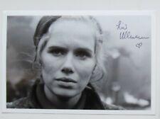 LIV ULLMAN 6 x 4 Signed Photo Autograph A