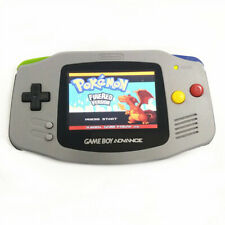 Gray Nintendo Game Boy Advance GBA Console System w/AGS 101 Backlight LCD Mod