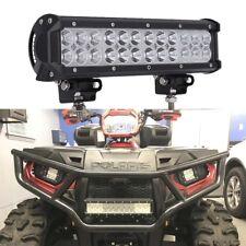 12In 72W Combo Led Light Bar Front Bumper Super Bright For Polaris OFF Road ATV