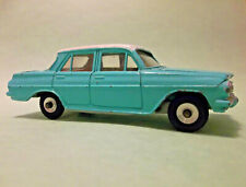 Dinky HOLDEN SPECIAL SEDAN #196 Turquoise/ White Model Car Meccano England Rare