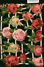 # GLANZBILDER # EF 7362, Rosen, schöne alte Motive, toller Bogen von 2013