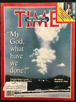 TIME MAGAZINE - July 29 1985 NUCLEAR WEAPONS / Hiroshima / Ronald Reagan / Mars