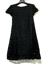 H&M HONEYCOMB design LACE SHIFT DRESS