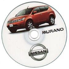 Nissan Murano series workshop manual workshop manual