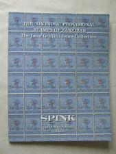 Spink Stamp Auction Catalogue -'On India' Stamps Of Zanzibar - Oct 2018