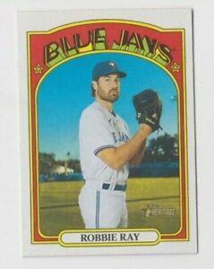 (12) Robbie Ray 2021 TOPPS HERITAGE BASE CARD LOT #358 TORONTO BLUE JAYS