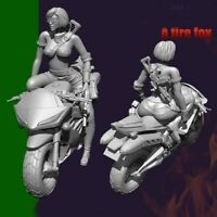 1/35 Resin Lady on a Motor Gunner unpainted unassembled BL755
