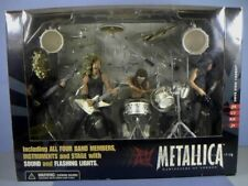 McFarlane Toys, Metallica Set, All For Band Members With Stage, Circa 2001