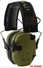 WALKER'S WALKERS RAZOR PATRIOT SERIES SLIM SHOOTER ELECTRONIC MUFFS OD GREEN