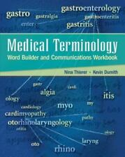 Medical Terminology Word Builder and Communications Workbook with Flashcards