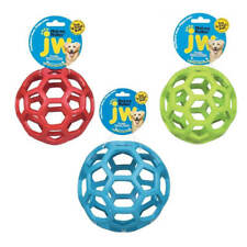 JW Pet Hol-ee Roller Dog Puppy Ball Durable Rubber Chew Toy Assorted Colour Toys