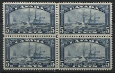 Canada 1933 Royal William block of 4 mint o.g., 2 are NH
