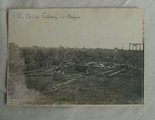 FRESNOY LES ROYE (80) guerre 1914-18 caisses d'eau minérale abandonnées