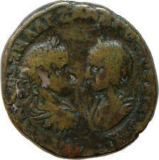 Rare Roman Coin Severus Alexander Julia Maesa Euthenia Marcianopolis Genuine