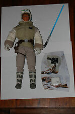 "Luke Skywalker Hoth 12"" Figure-Star Wars-Hasbro 1/6th-Custom Side Show"