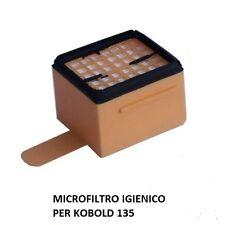 MICROFILTRO IGIENICO KOBOLD PER FOLLETTO COMPATIBILE VK 135 ASPIRAPOLVERE