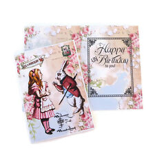NEW Alice in Wonderland -UN Birthday- White Rabbit - Vintage Children Card