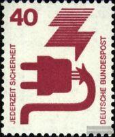 BRD (BR.Deutschland) 699A Ra mit Zählnummer postfrisch 1971 Unfallverhütung