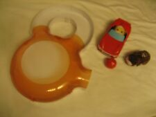 ZHUZHU PET PLAY SET WITH MAZE, CAR, BALL AND 2 ZHUZHU PETS BROWN & YELLOW