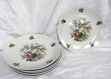Seltmann Weiden PORCELLANA-Set di sei Bird of Paradise 19 cm piatti da dessert/insalata