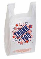 "Holds 11 /½ x 6 x 21/"" T-Shirt Handle Bags Hanging Plastic Bag Holder"