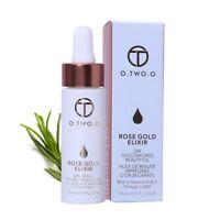 Face Skin Makeup Primer Oil 24k Rose Gold Moisturizing Oil Essential Anti-aging