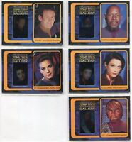 Star Trek The Complete Deep Space Nine DS9 Gallery Chase Card Set G1-G10
