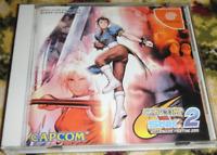 CAPCOM VS SNK 2 MILLIONAIRE FIGHTING 2001 DREAMCAST