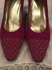 BRAND NEW Graceful Hot Pink Bruno Magli Heels Size 10