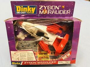 DINKY TOYS ZYGON MARAUDER NUOVO MADE IN ENGLAND VINTAGE